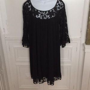 Dress Barn size 14W beautiful black dress